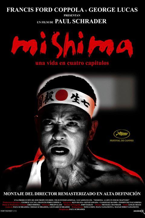 Mishima: una vida en cuatro capítulos : Cartel