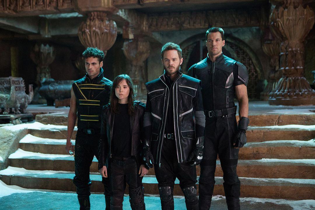 X-Men: Días del futuro pasado : Foto Daniel Cudmore, Ellen Page, Shawn Ashmore