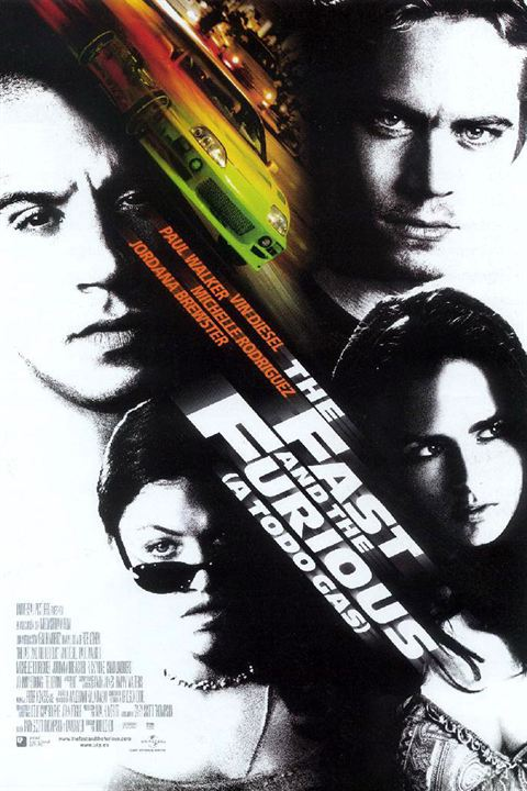 The Fast and the Furious (A todo gas) : Cartel