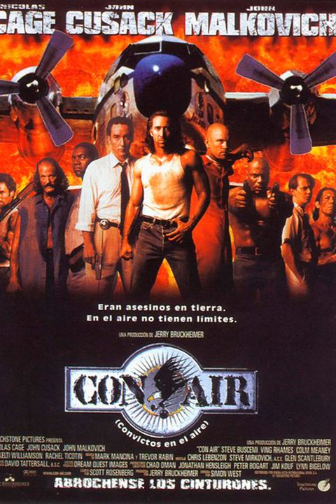 Con Air (Convictos en el aire) : Cartel