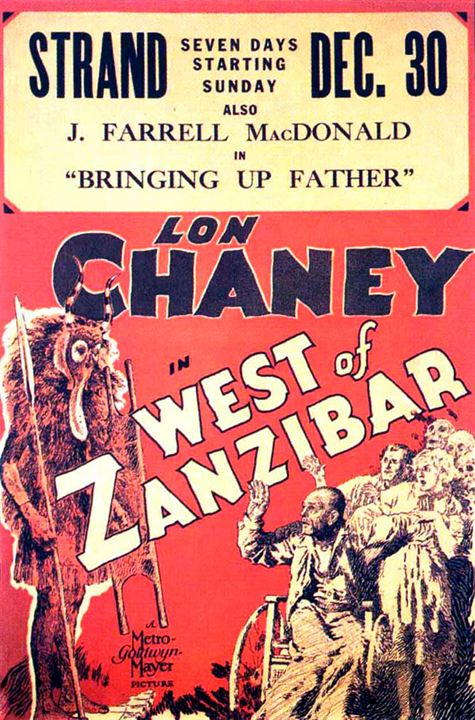 Los pantanos de Zanzíbar : Cartel