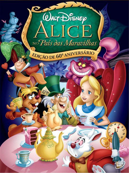 Alicia en el País de las Maravillas : Cartel