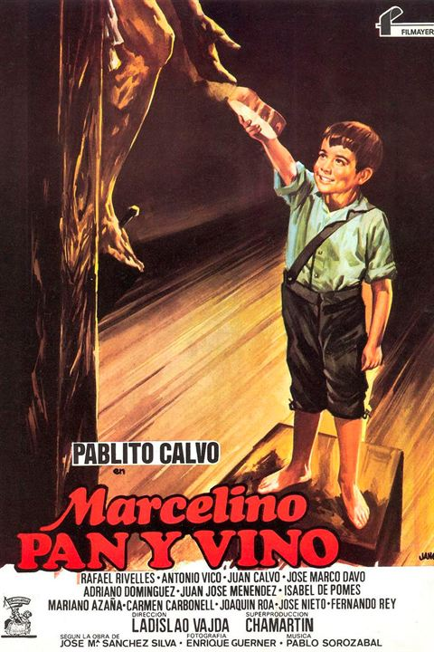 Marcelino pan y vino : Cartel