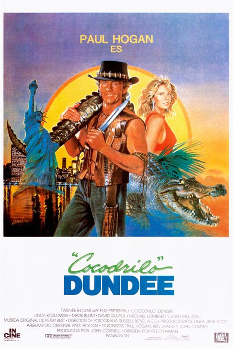 Cocodrilo Dundee : Cartel