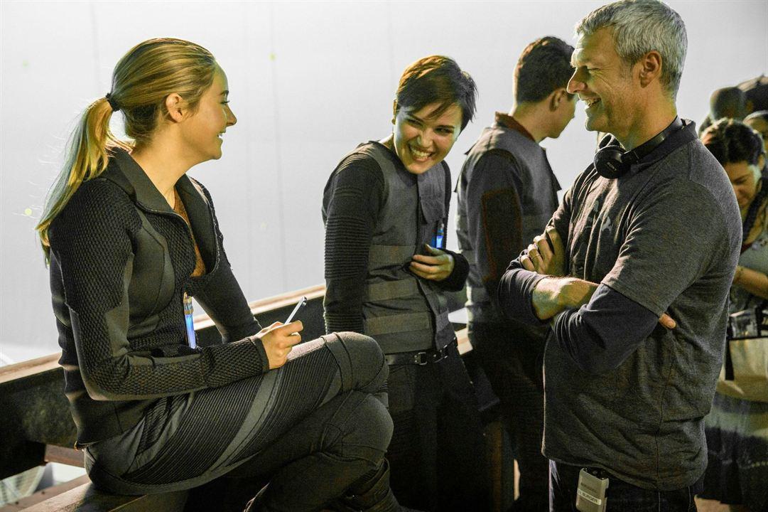 Divergente : Foto Neil Burger, Shailene Woodley, Veronica Roth