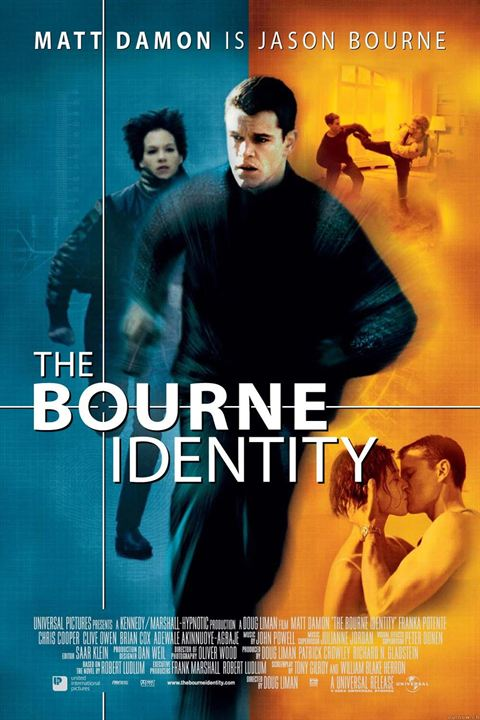 The Bourne Identity (El caso Bourne) : Cartel