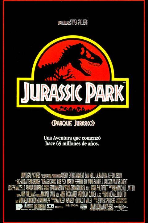 Jurassic Park (Parque Jurásico) : Cartel