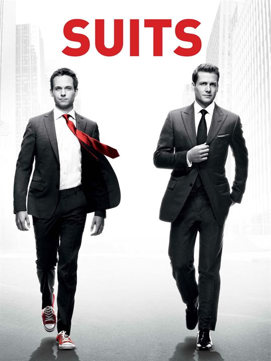 Suits: la clave del éxito : Cartel