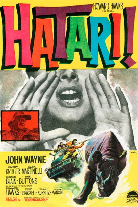 Hatari! : Cartel