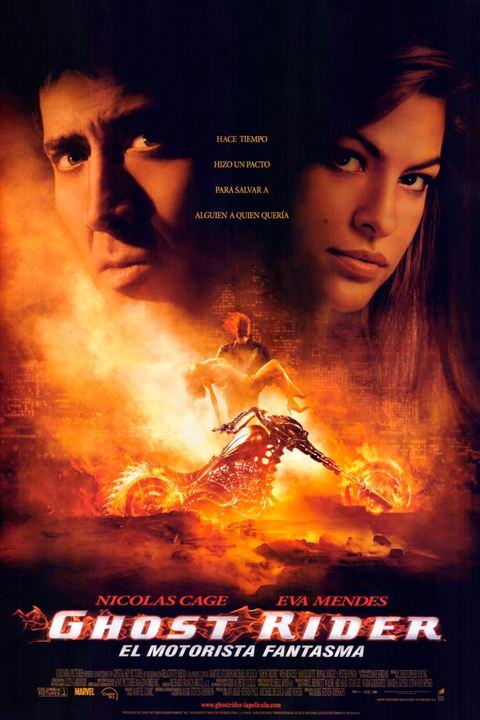 Ghost Rider. El motorista fantasma : Cartel