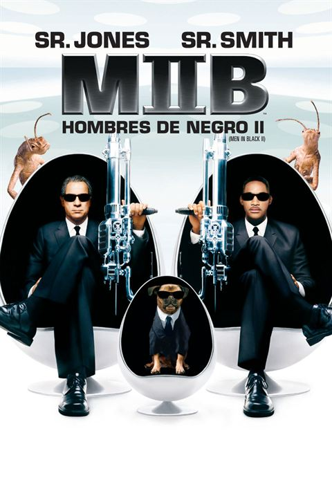 Hombres de Negro II : Cartel