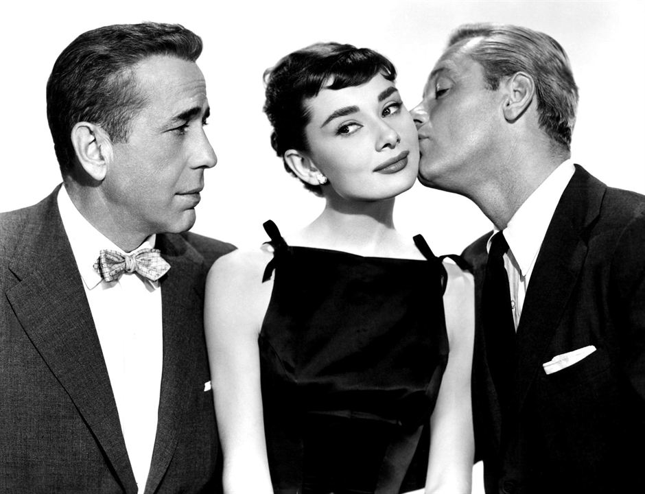 Sabrina : Foto Audrey Hepburn, Humphrey Bogart, William Holden