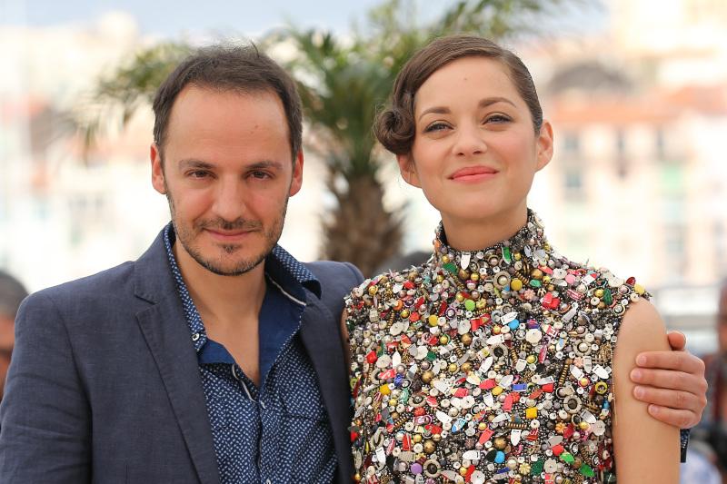 Dos días, una noche : Couverture magazine Fabrizio Rongione, Marion Cotillard