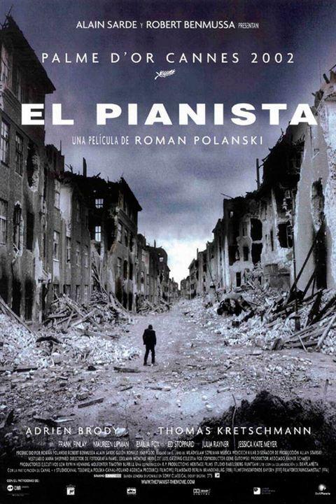 El pianista : Cartel