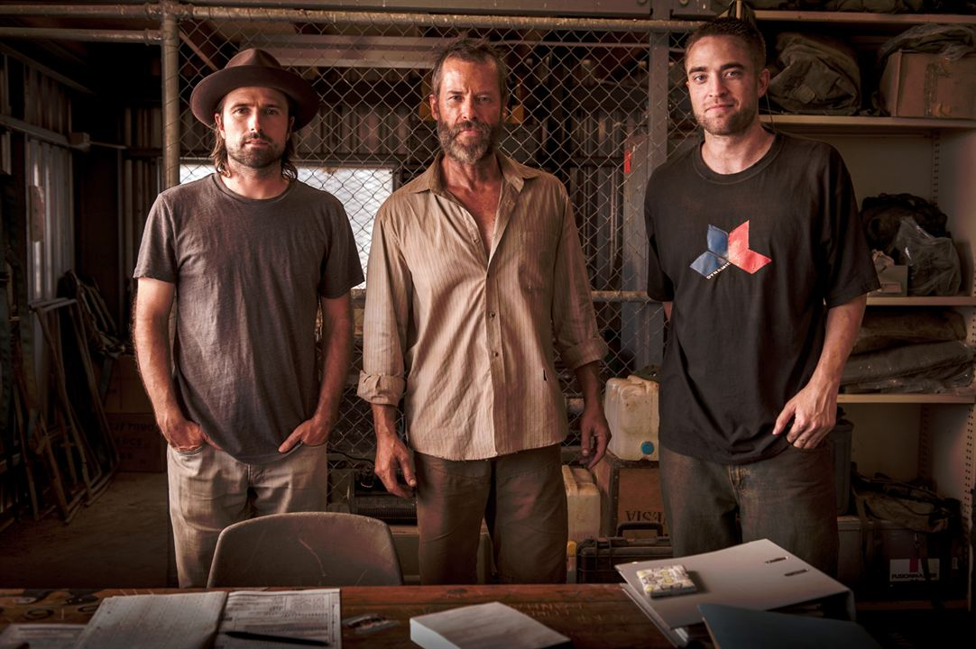 The Rover : Foto David Michôd, Guy Pearce, Robert Pattinson
