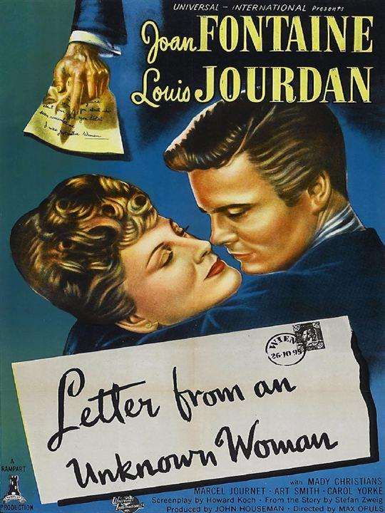 Carta de una desconocida : Cartel