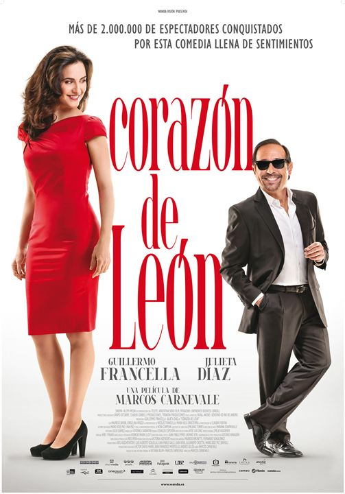 Corazón de León : Cartel