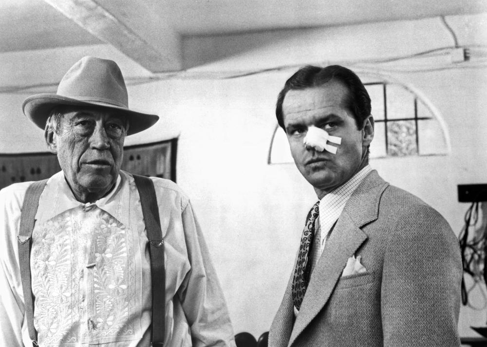 Chinatown : Foto Jack Nicholson, John Huston