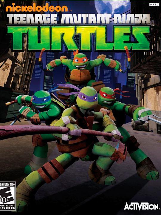Las tortugas Ninja (2012) : Cartel