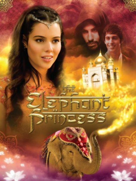La princesa elefante : Cartel