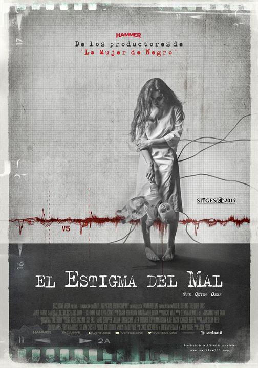 El estigma del mal : Cartel