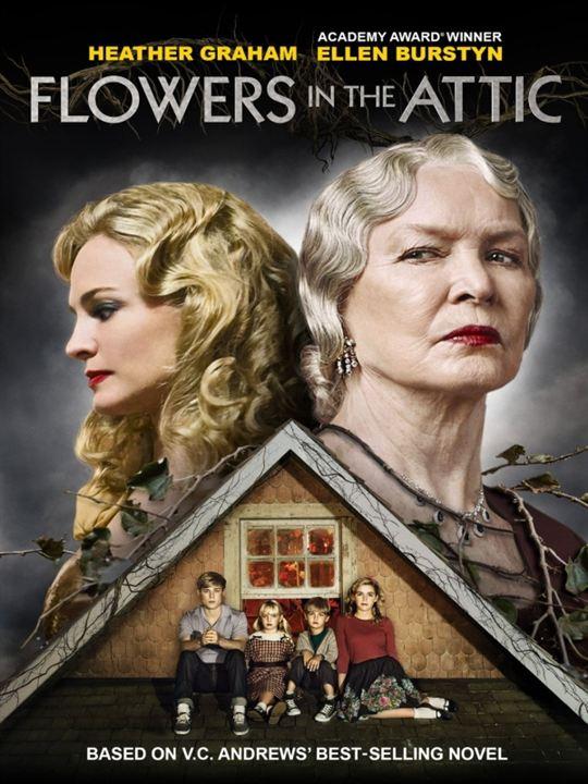 Flores en el ático : Cartel