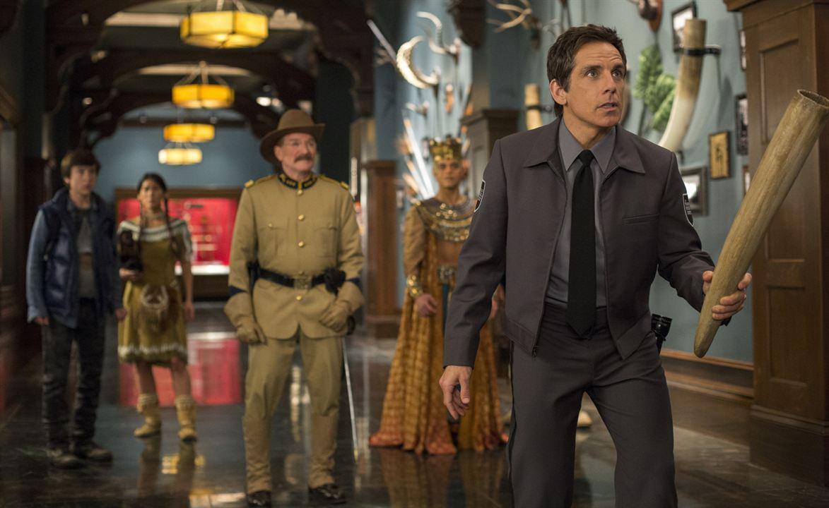 Noche en el museo: El secreto del Faraón : Foto Ben Stiller, Mizuo Peck, Rami Malek, Robin Williams, Skyler Gisondo
