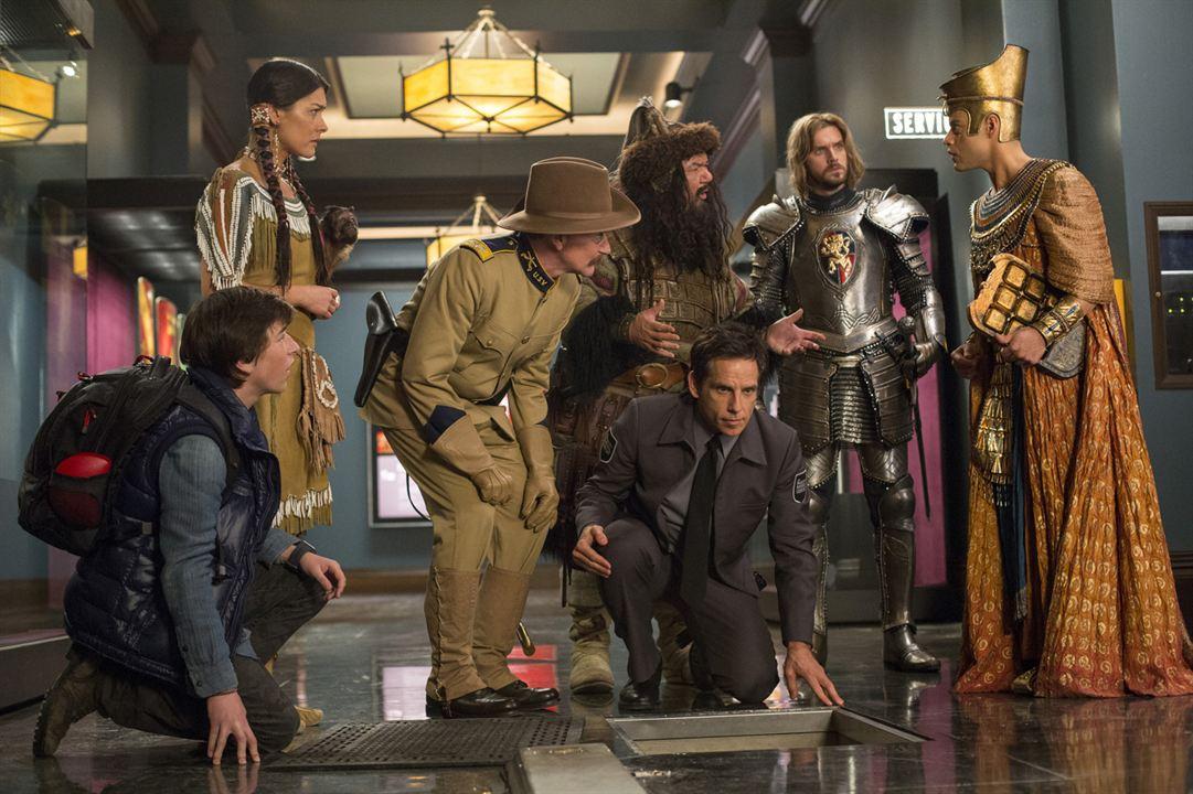 Noche en el museo: El secreto del Faraón : Foto Ben Stiller, Dan Stevens, Mizuo Peck, Patrick Gallagher, Rami Malek