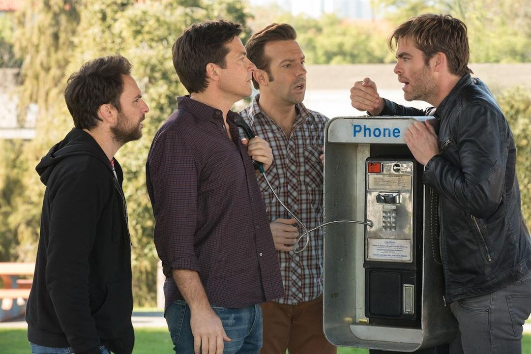 Cómo acabar sin tu jefe 2 : Foto Charlie Day, Chris Pine, Jason Bateman, Jason Sudeikis