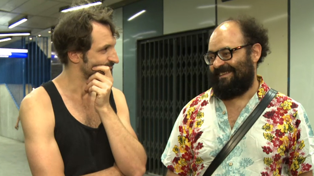 El fin de la comedia : Foto Julián Villagrán
