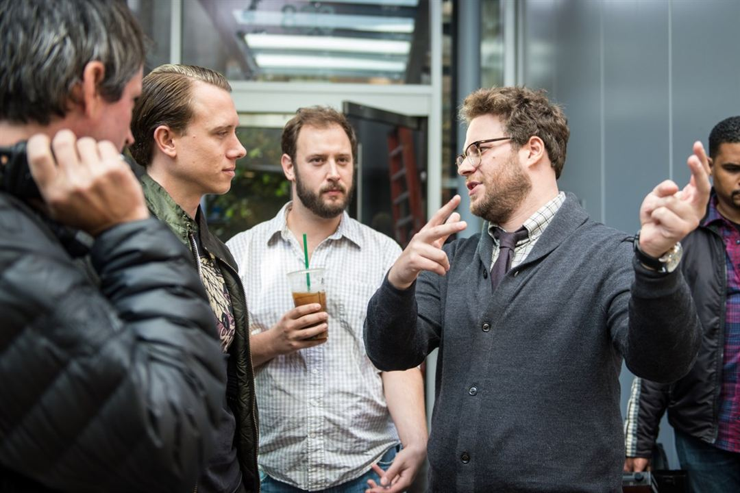 The Interview : Foto Brandon Trost, Evan Goldberg, Seth Rogen