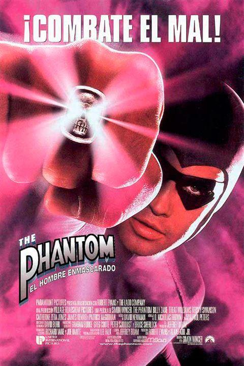 The Phantom (El hombre enmascarado) : Cartel