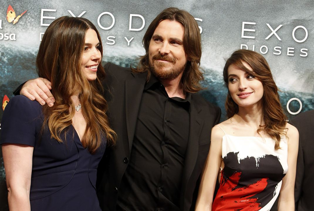 Exodus: Dioses y reyes : Couverture magazine Christian Bale, María Valverde