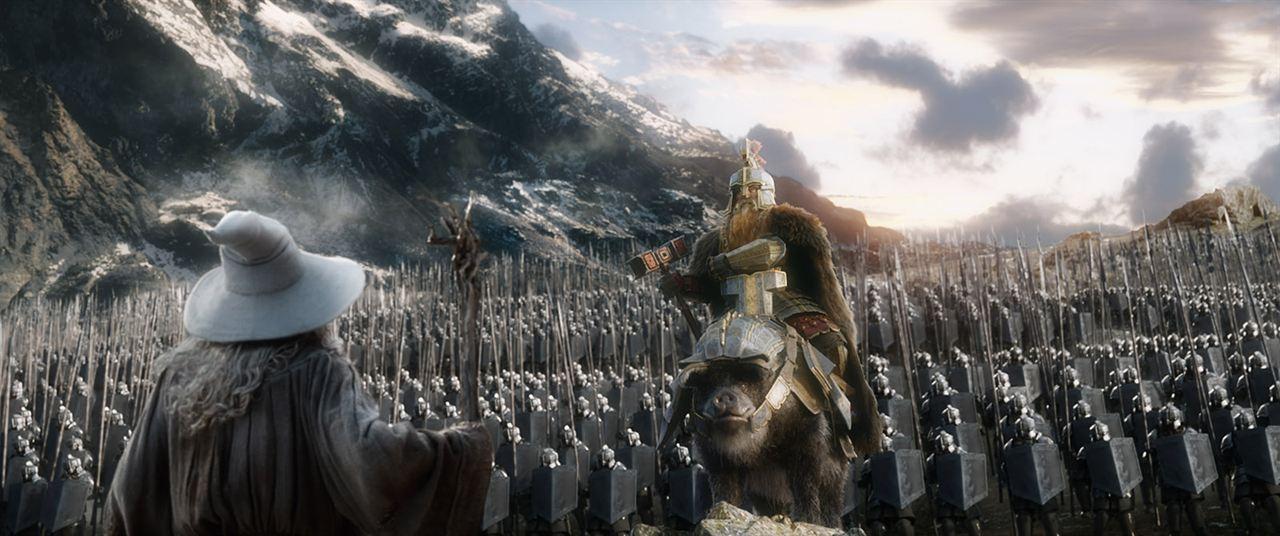 Resultado de imagen de el hobbit batalla de los 5 ejercitos