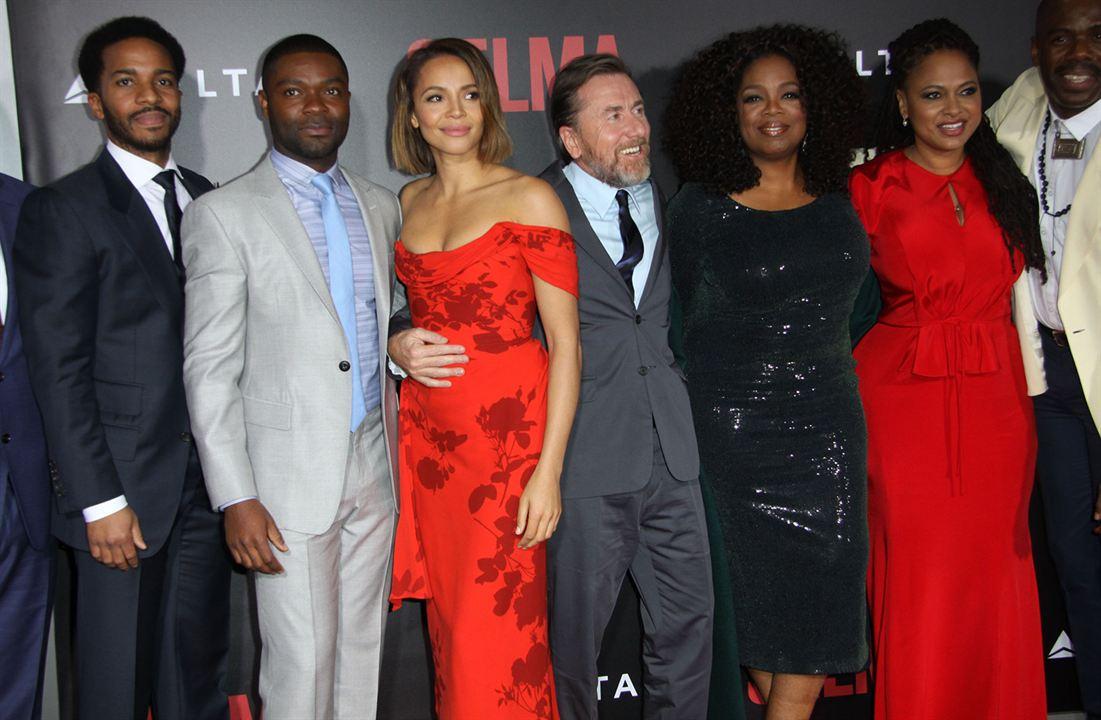 Selma : Couverture magazine Ava DuVernay, Carmen Ejogo, David Oyelowo, Oprah Winfrey, Tim Roth