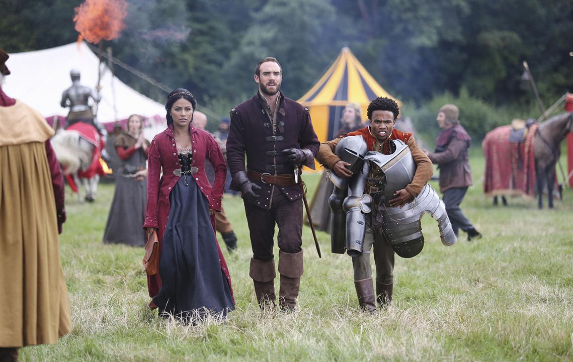Foto Joshua Sasse, Karen David, Luke Youngblood