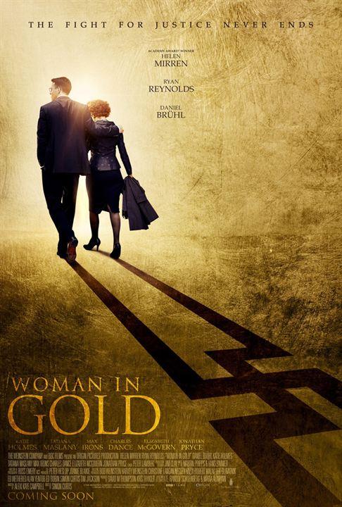 La dama de oro : Cartel