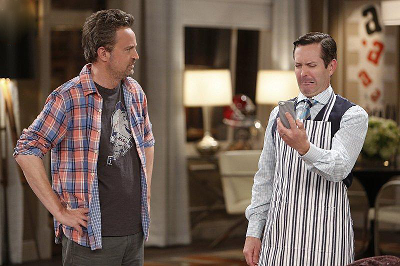 Foto Joe Keenan, Matthew Perry
