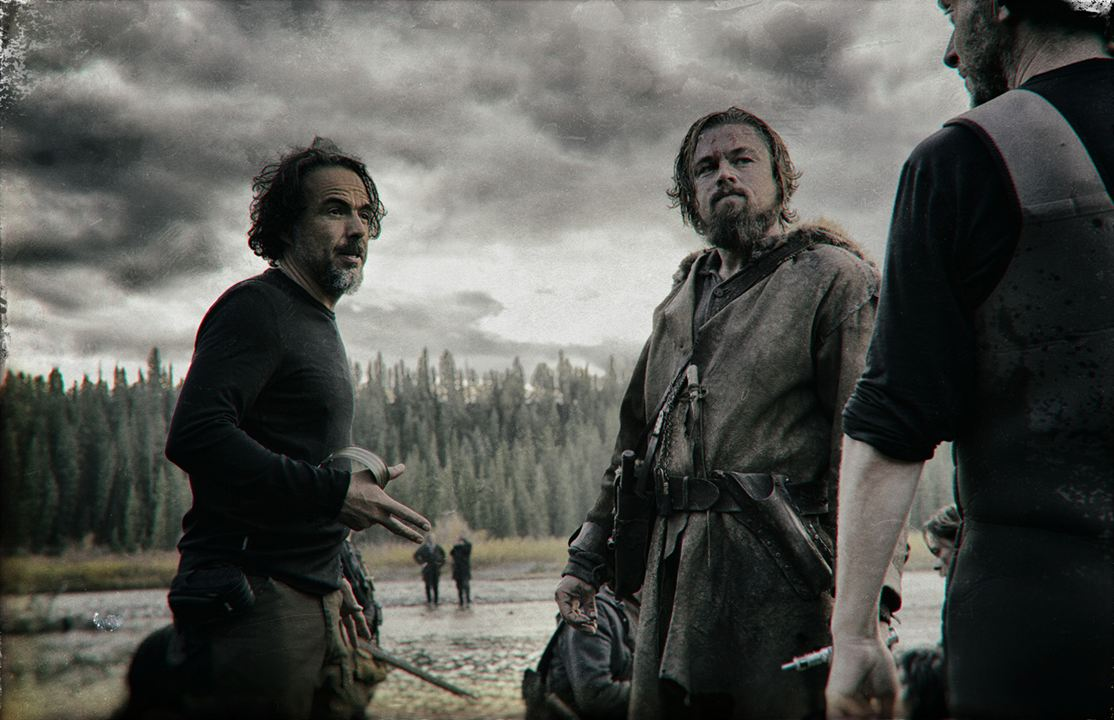 El renacido : Foto Alejandro González Iñárritu, Leonardo DiCaprio