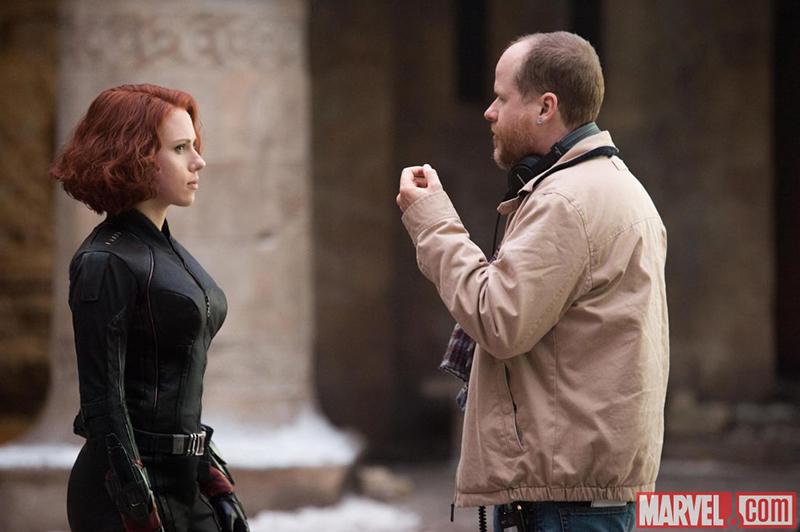 Vengadores: La era de Ultrón : Foto Joss Whedon, Scarlett Johansson