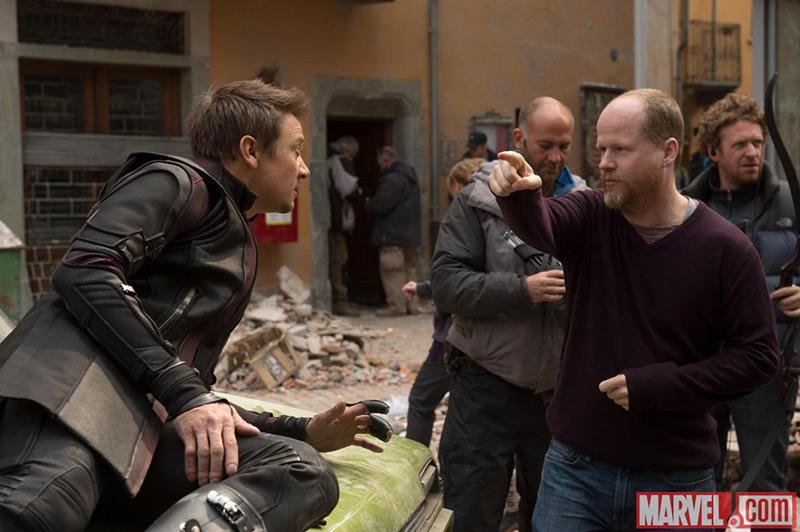 Vengadores: La era de Ultrón : Foto Jeremy Renner, Joss Whedon