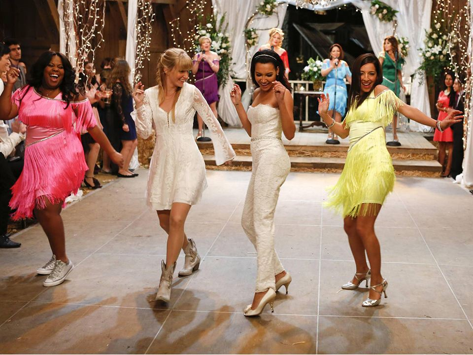 Foto Amber Riley, Heather Morris, Naya Rivera