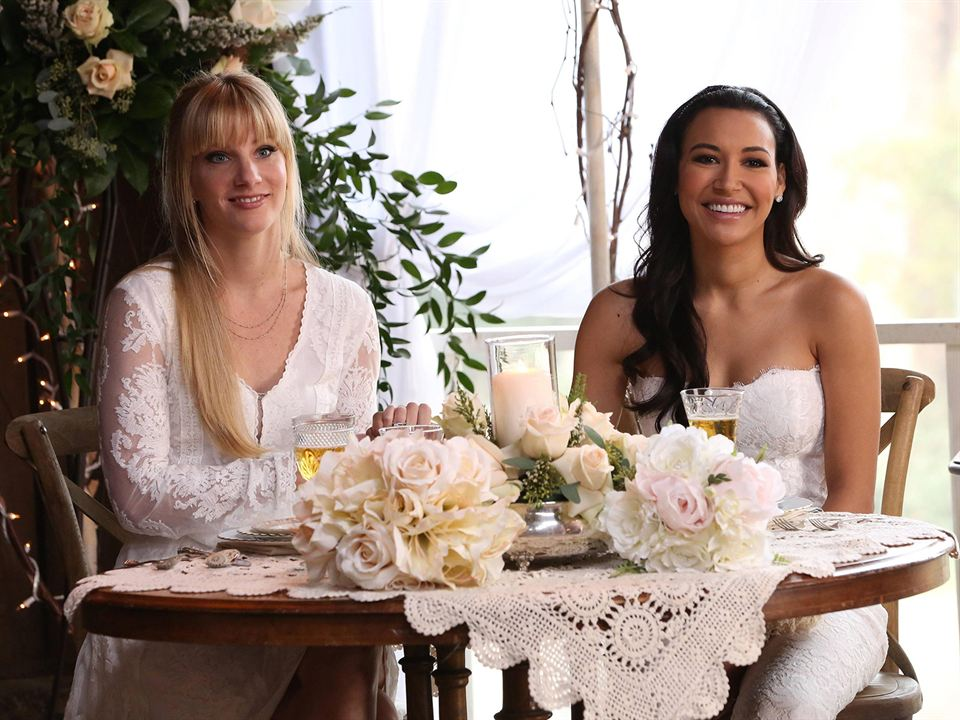 Foto Heather Morris, Naya Rivera