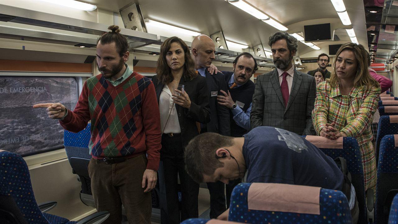 Incidencias : Foto Carlos Areces, Ernesto Alterio, Lola Dueñas, Roberto Álamo, Rubén Ochandiano