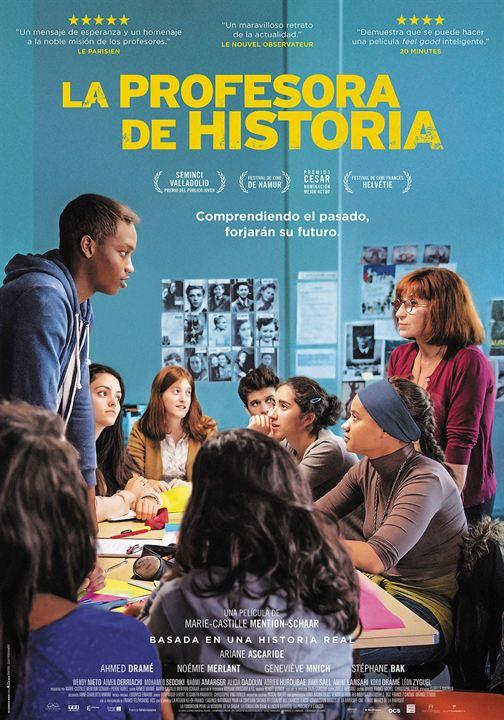 La profesora de historia : Cartel