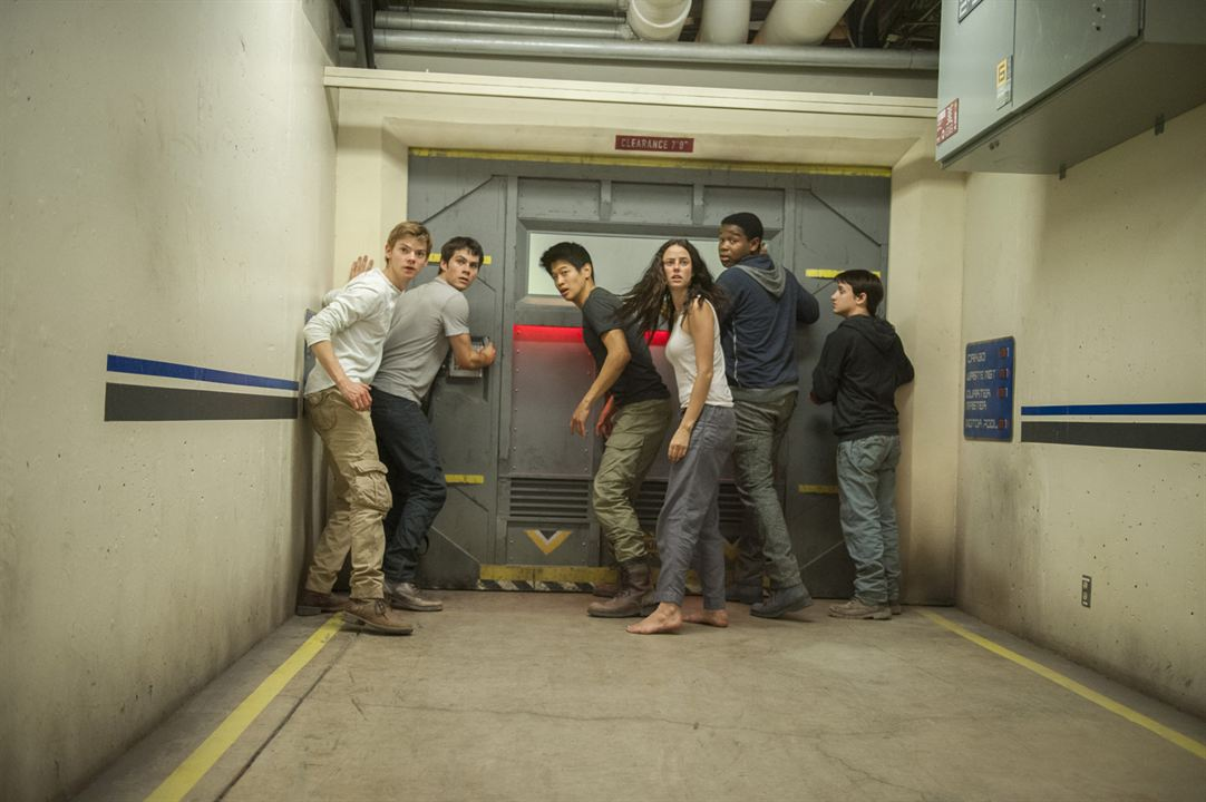 El corredor del laberinto: Las pruebas : Foto Dexter Darden, Dylan O'Brien, Kaya Scodelario, Ki Hong Lee, Thomas Brodie-Sangster