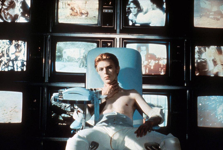 El hombre que cayó a la Tierra : Foto David Bowie
