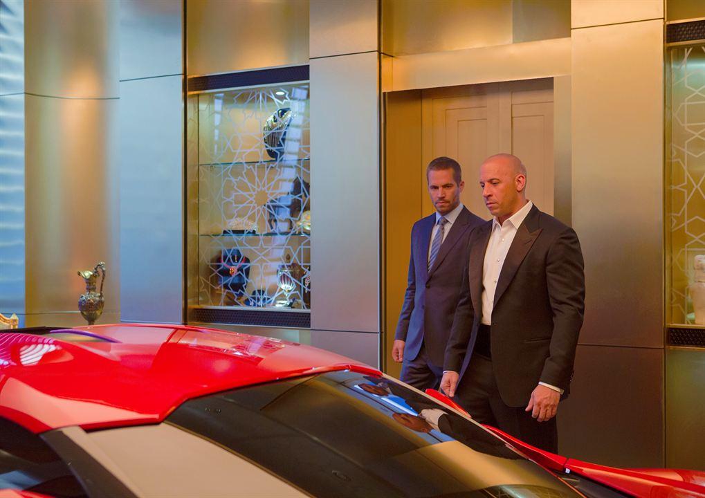 Fast & Furious 7 : Foto Paul Walker, Vin Diesel