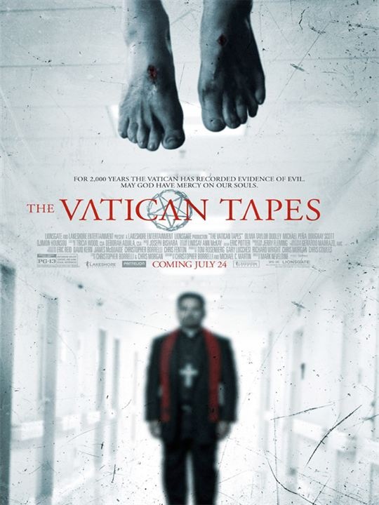 Exorcismo en el Vaticano : Cartel