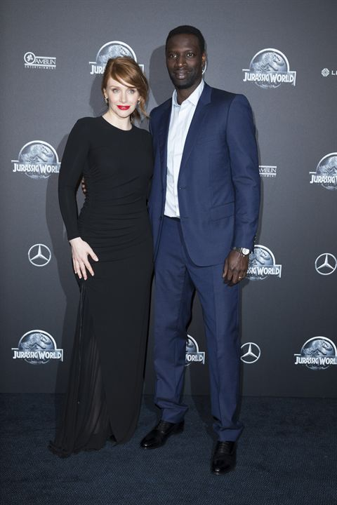 Jurassic World : Couverture magazine Bryce Dallas Howard, Omar Sy